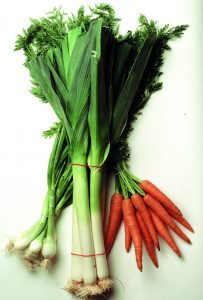 ATTALINK - vegetable onions, leek and carrot ignons poireaux carottes