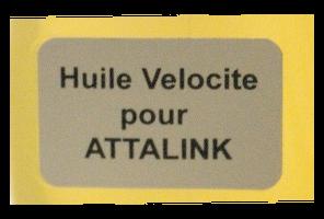 burette huile velocite pour Attalink