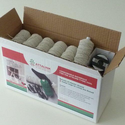 Fil Pack 24 pelottes standard écru pour lieur Attalink